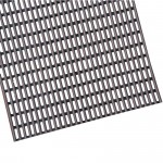 PVC Tube Mat Grey